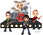 Foo Fighters by josephine76