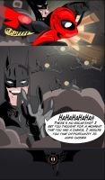 SPIDER-MAN VS DEADPOOL PG 6 (Featuring Batman) by ProjectCornDog