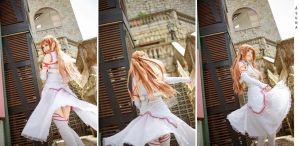 Asuna by Bakasteam