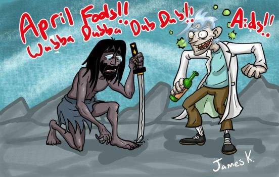 Rick and Jackie! APRIL FOOLS!! by killer-kay-james