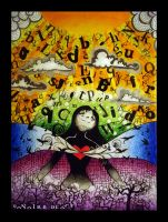 . inspiration comes in . by sunfairyx