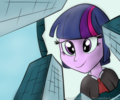 E - Equestrian Visitor by Kampfkeks007