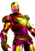 COLORFUL IRONMAN POP by PootPoster
