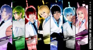 Generation of Miracles, Kiseki no Sedai by fritzfusion
