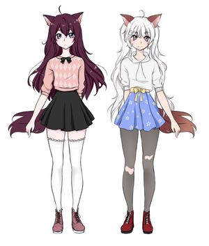 Kai and Aya ref by Chaine-x