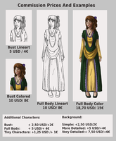 Commissions:Prices and Examples (read description) by Biali