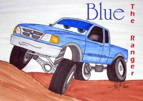 Blue - The Ranger by Zhon