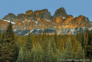 Castle Mountain by La-Vita-a-Bella