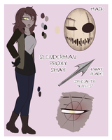 {CPOC} Slenderman Proxy Shay Ref by DaCrepeArts