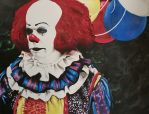 Pennywise Stare by TamiNoll
