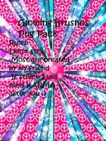 Glowing Brush Png Pack by MaddieLovesSelly