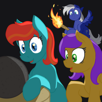 Ember and the Orb by Geomancing