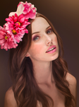 Flowers In Your Hair by marinamaral