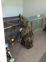 Ghillie Suit Check Sniper Rifle Check Yeah by Ghost141