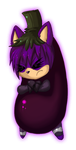 angry aubergine by NightAngelTDC