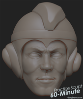 Mega Man - 60-Minute Practice Sculpt by GaryStorkamp
