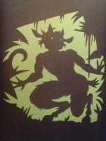 Startled Faun  -Paper by stevie-devlin
