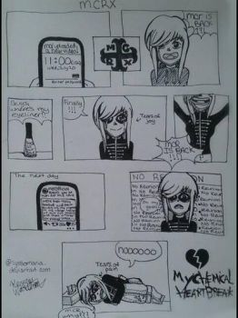 MCRX- My Chemical Trollmance (Heartbreak) Comic by Lyssomania