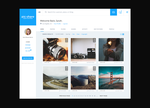 Photography Social Network Mockup - picshare by GreyPWalker