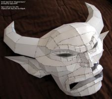 Chernabog Mask - Papercraft Build by EuTytoAlba