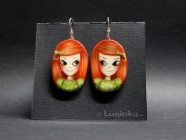 Laninka Earrings - Ginger by 1anina