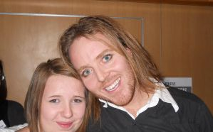 Me + Tim Minchin at TAM LONDON by AnimeLoverSam