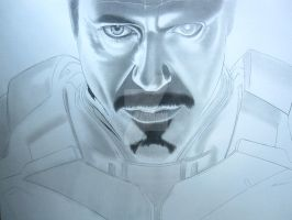 Tony Stark Iron-Man WIP II by corysmithart
