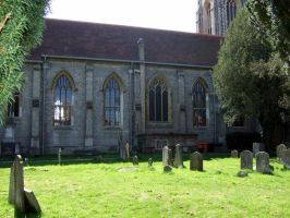 view of the Church side from grave yard marlow by Sceptre63