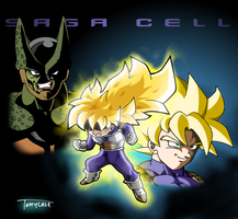 A new super saiyan by Tomycase