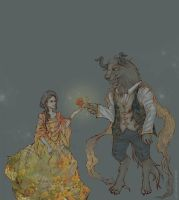 Beauty and the Beast updated by galazy
