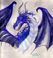 Winter Dragon by maekitty
