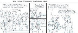 How Disney's The Little Mermaid should have ended by brensey