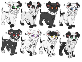 Pup Adoptables by Claire-Cooper