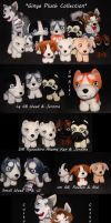 Ginga Plush Collection by SilverToraGe
