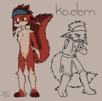 Kaelem AKA the guy I never stop redesigning by Bitcoon