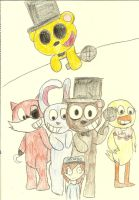 Five Nights At Freddys by xRibbon-Candyx