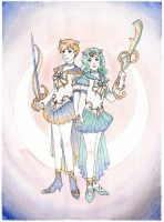 Millenia Uranus and Neptune by KoriMichele