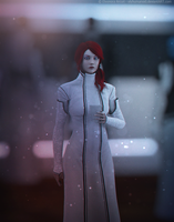 [Request] Macie Shepard - elegant dress by elyhumanoid