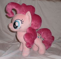 MLP - FiM: Pinkie Pie Plush by sugarstitch