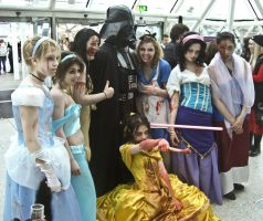 Undead Disney and Vader by UndeadCosplay