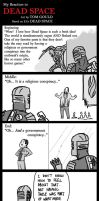 My Reaction to Dead Space (spoilers) by TheGouldenWay