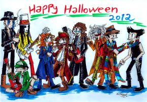 Happy halloween 2012 by the-ChooK