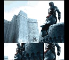 Assasins Creed Altair by omerbintas