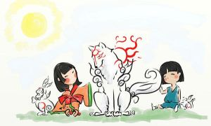 okami: lets play together by skart2005