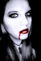 Vampire Angela-Drop of Blood by Darkest-B4-Dawn
