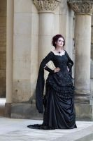Stock - Selfconfident lady victorian dark romantic by S-T-A-R-gazer