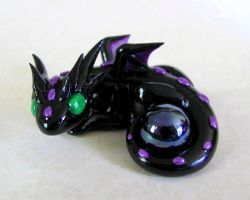 Black Pearl Dragon by DragonsAndBeasties