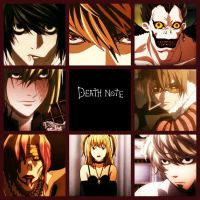 Deathnote Collage by PufferfishCat