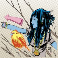 Sparrow by JimMahfood-FoodOne