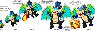 When I grow up - Spike Draco by DarkDiddyKong